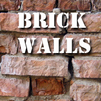 Brick Walls 2D Graphics 1971s