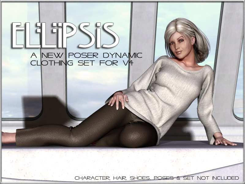 Ellipsis - Dynamic Outfit for V4 by vyktohria