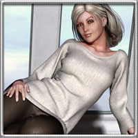 Ellipsis - Dynamic Outfit for V4 Clothing vyktohria