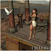 Offero Interior & Exterior (Poser & OBJ) Themed Props/Scenes/Architecture RPublishing