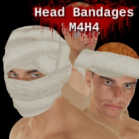 Head Bandages M4H4 3D Figure Essentials SickleYield