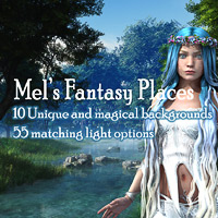 Mels Fantasy Places 2D Software Justmel