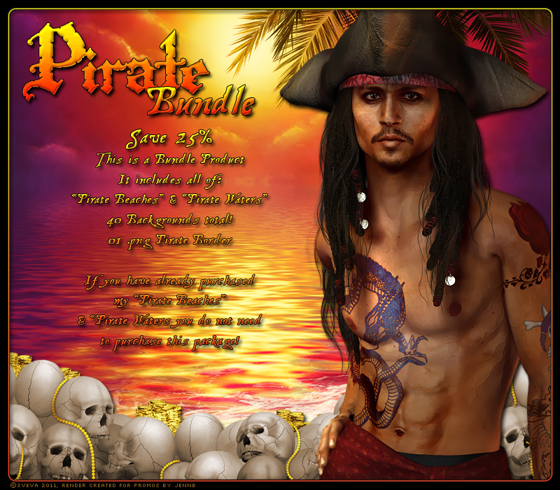 Pirate Beaches & Waters Bundle