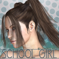 Surreal SchoolGirl 3D Figure Essentials surreality