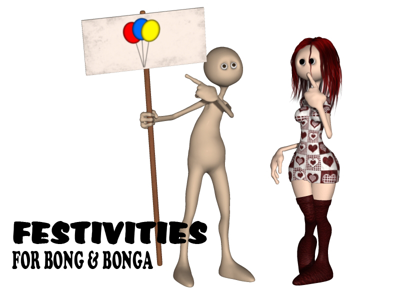 Festivities for Bong and Bonga