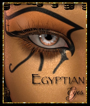 Egyptian Eyes for V4 Merchant Resource 2D Merchant Resources 3DFineries