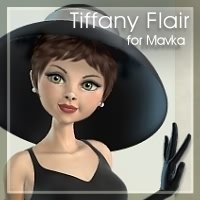 Tiffany Flair for Mavka by EyesblueDesign