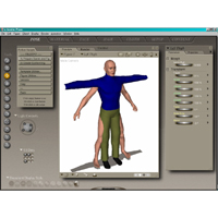 Clothing Designer: OBJ2CR2 Software PhilC