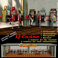 LJ_Casino Gaming 3D Models lyma