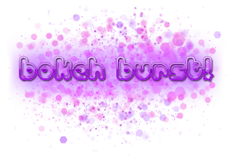 Merchant Resource: Bokeh Burst!