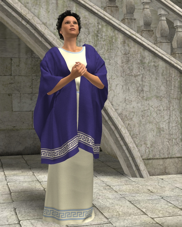 Rachel Dynamic Tunic and Shawl for V4