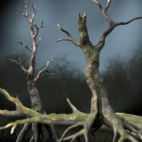 DRDeadTrees1 3D Models Dinoraul