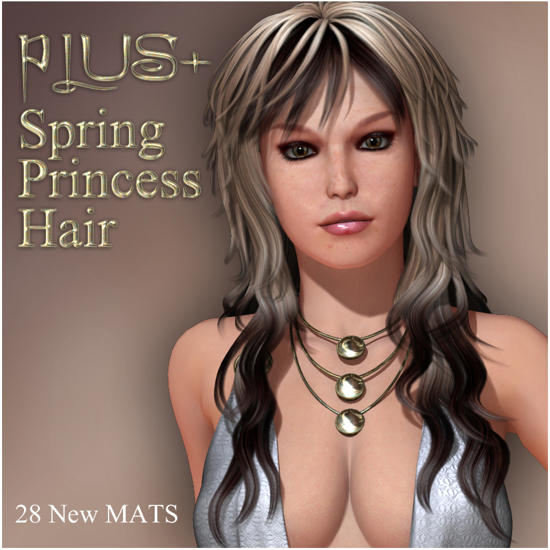 PLUS for Spring Princess Hair