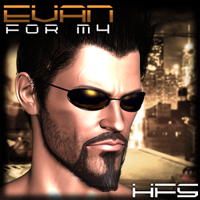 HFS Cyberpunk- Evan for M4 3D Models 3D Figure Essentials DarioFish