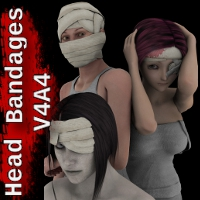 Head Bandages V4A4 Clothing SickleYield