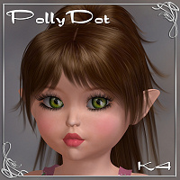 PollyDot 3D Figure Essentials Amaranth