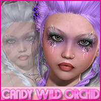 Candy Wild Orchid 3D Figure Essentials Sveva