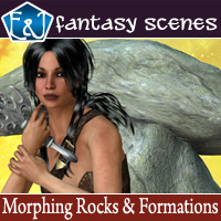 Morphing Rocks And Formations 3D Models EmmaAndJordi