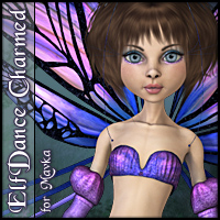 ElfDance: Charmed for Mavka 3D Figure Essentials 3D Models SWAM