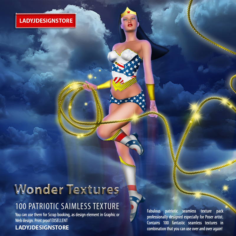 Wonder Textures - Patriotic pack!