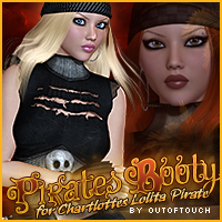 Pirates Booty for Lolita Pirate Clothing Footwear Themed Sveva