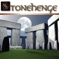 Stonehenge for Bryce 3D Figure Essentials 3D Models Razor42