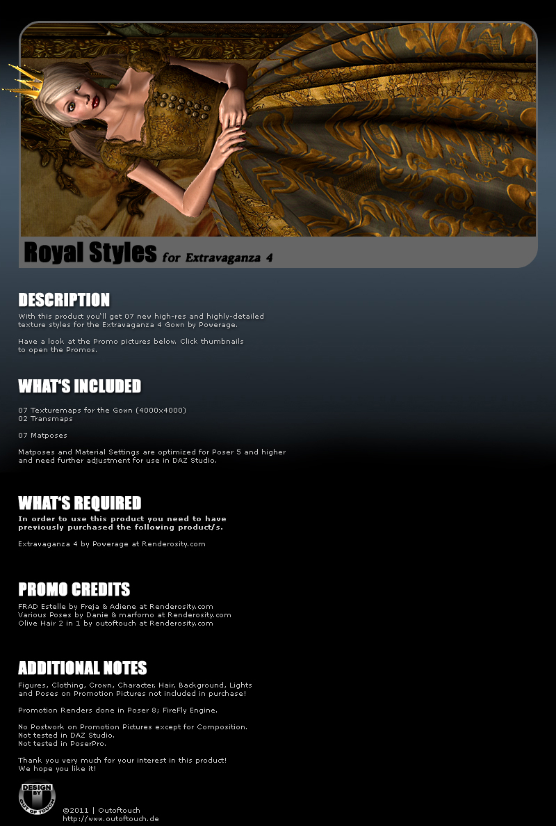 ROYAL STYLES for Extravaganza 4 by Powerage