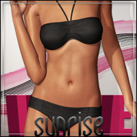 FASHIONWAVE Sunrise Bikini for V4 A4 G4 3D Figure Assets 3D Models outoftouch