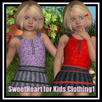 SweetHeart for Kids Clothing 1 3D Figure Essentials Marianne_Designs