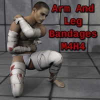Arm And Leg Bandages M4H4 Clothing SickleYield