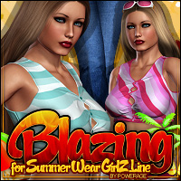 Blazing for SUMMER WEAR GirlZ Line V4 Clothing ShanasSoulmate