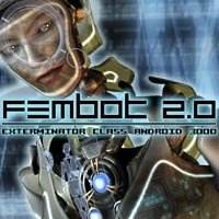 Fembot 2.0 3D Figure Essentials winnston1984