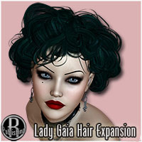 Lady Gaia Hair Expansion Themed Hair RPublishing
