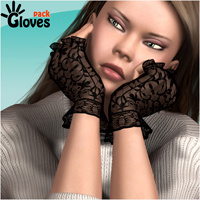 Gloves Pack by mytilus