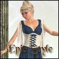 Epic Style 3D Figure Essentials 3D Models Nathalie_