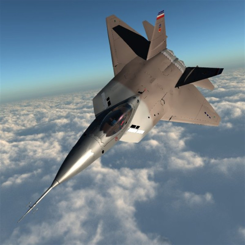 YF 22 Lightning II (for Poser)
