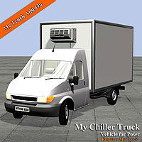 My Chiller Truck 3D Models Simon-3D