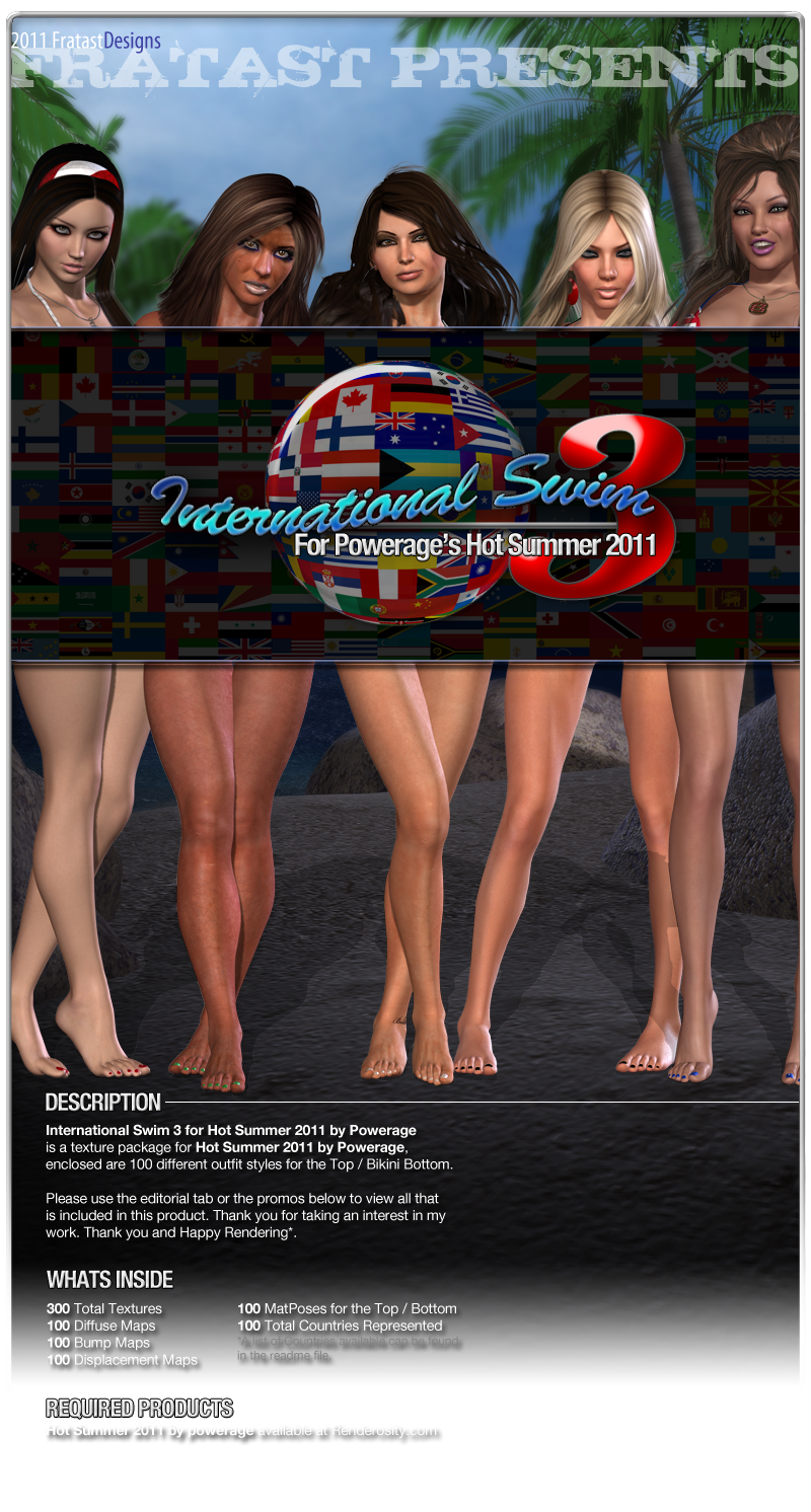 International Swim 3 for Hot Summer 2011 by Powerage