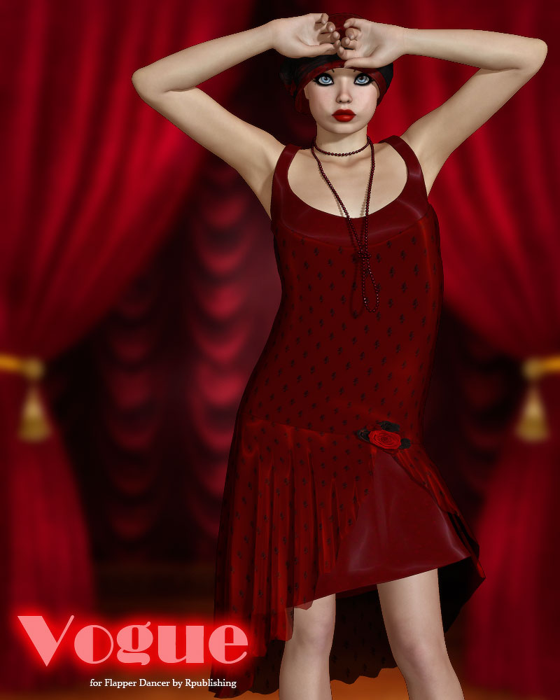 Vogue for Flapper Dancer