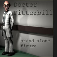 Doctor Pitterbill Stand Alone Figures Nursoda
