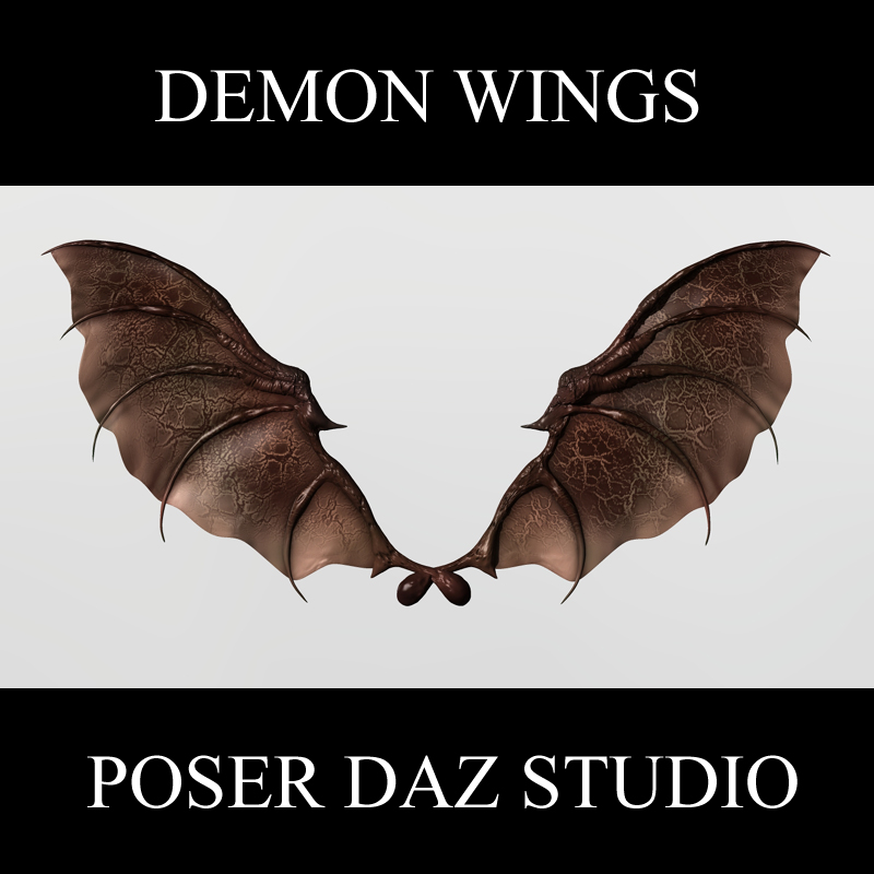 Demon Wings by adamthwaites
