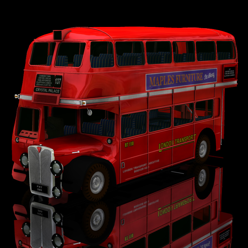 Bus AEC London (for Poser)