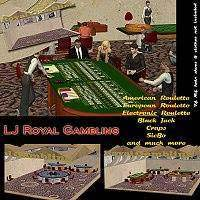 LJ_Royal Gambling 3D Models lyma