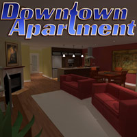 Downtown Apartment 3D Models PuzzWizz