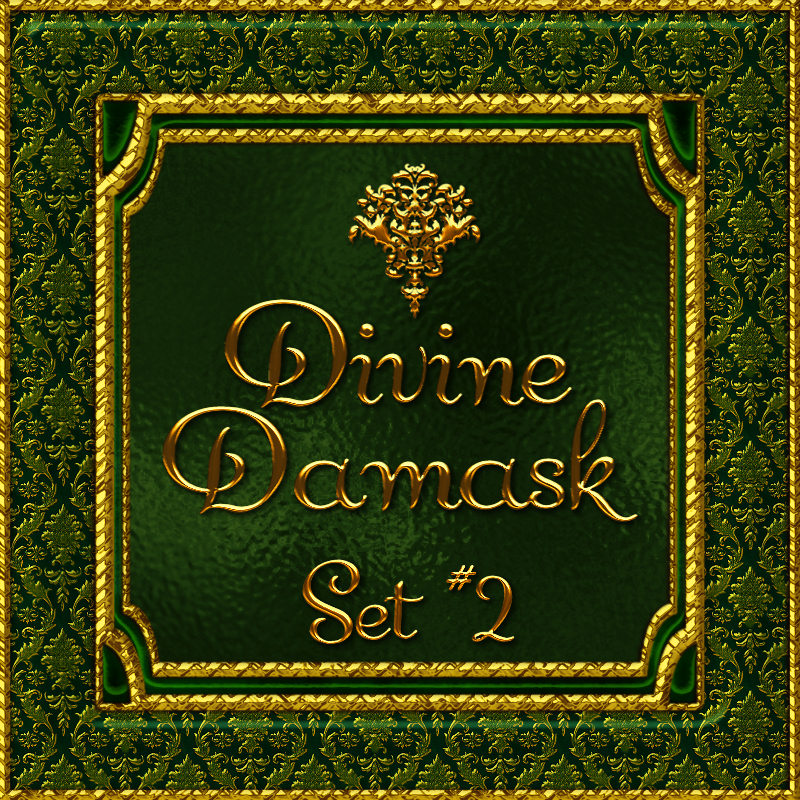 Divine Damask-Set No. 2