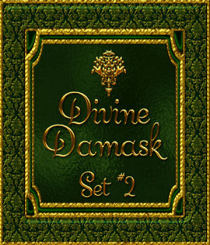 Divine Damask-Set No. 2 2D Graphics fractalartist01