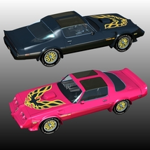 PONTIAC FIREBIRD TRANS AM 3D Models Nationale7