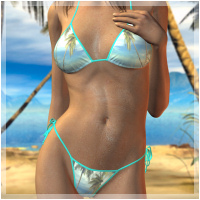 Sunkissed 4 Hongyus Bikini 3D Figure Essentials Holly