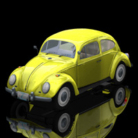 Volkswagen Beetle (for Poser) 3D Models Digimation_ModelBank