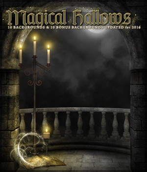 Magical Hallows 2D Graphics Sveva